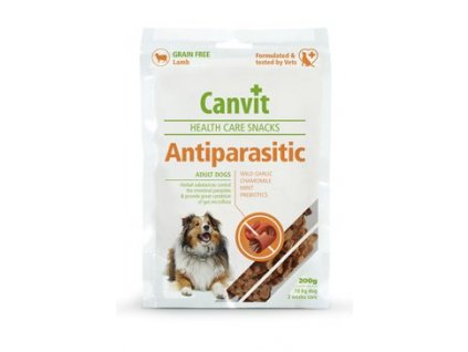 Canvit Snacks Anti Parasitic 200g