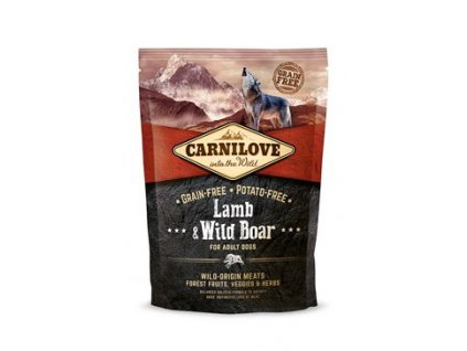 Carnilove Dog Lamb & Wild Boar for Adult 1,5 kg