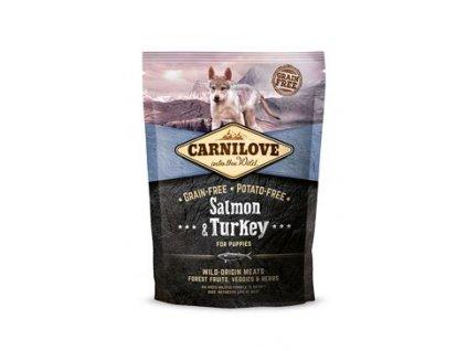 Carnilove Dog Salmon & Turkey for Puppies 1,5k g