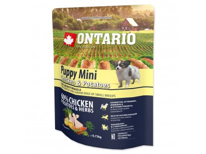 1172 ontario puppy mini chicken potatoes 0 75 kg