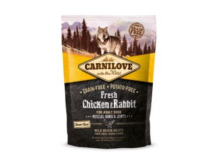 Carnilove Dog Fresh Chicken & Rabbit for Adult 1.5 kg