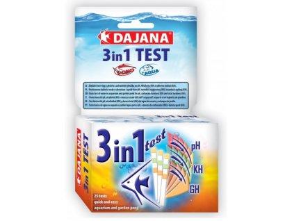 DAJANA multitest 3v1 pH, KH, GH