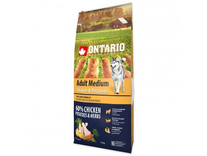 1199 ontario adult medium chicken potatoes 12 kg