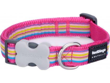 Red Dingo Horizontal Stripes Hot Pink