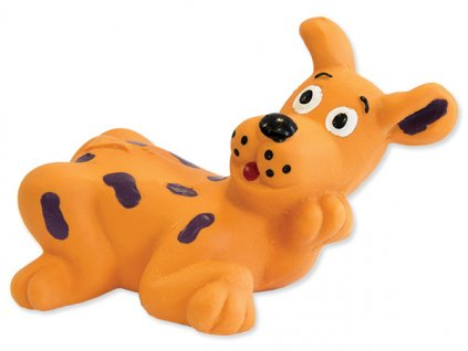 Hračka DOG FANTASY latex Mini zvířátka se zvukem různé druhy a barvy 8 10 cm