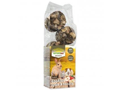Pochoutka Nature Land Brunch sušenky s jablky a banány 120 g