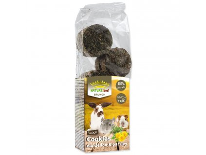 Pochoutka Nature Land Brunch sušenky s pampeliškou a petrželí 120 g