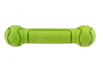 GiGwi Dumbbell činka s tvrzené pěny zelená