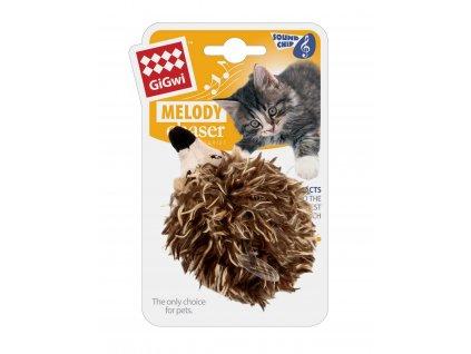 GiGwi melody chaser ježek se zvukovým čipem