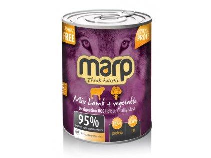 MARP mix konzerva pro psy jehně + zelenina 400 g