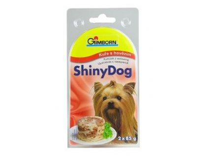 Shiny Dog Kuře s hovězím 2 x 85 g