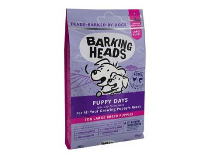 BARKING HEADS Puppy Days NEW (Large Breed)12 kg
