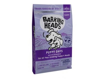 BARKING HEADS Puppy Days NEW 6 kg