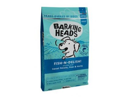 BARKING HEADS Fish n Delish NEW 12 kg