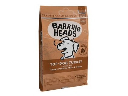 BARKING HEADS Top Dog Turkey 12 kg