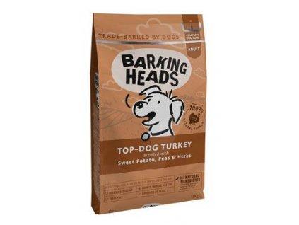BARKING HEADS Top Dog Turkey 12 kg