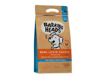 BARKING HEADS Bowl Lickin' Chicken (Small Breed) 1,5 kg