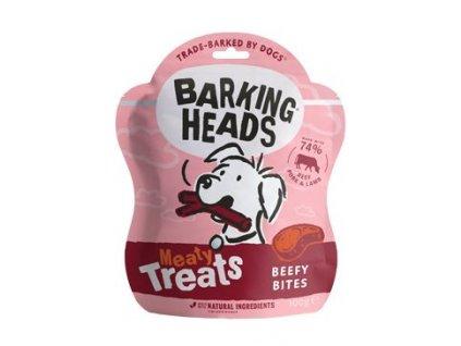 BARKING HEADS Meaty Treats Beefy Bites 100 g