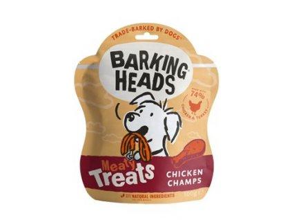 BARKING HEADS Meaty Treats Chicken Champs 100 g