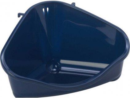 Rohová toaleta Pets Corner Tray S 18,3 cm tm.modrá
