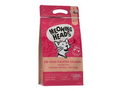 MEOWING HEADS So fish ticated Salmon 1,5 kg