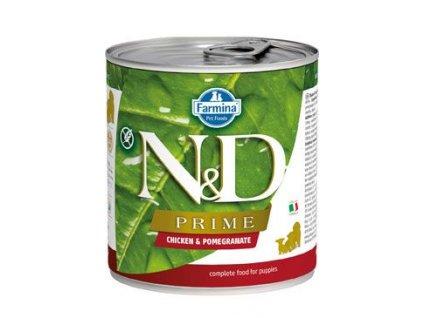 N&D DOG PRIME Puppy Chicken & Pomegranate 285 g