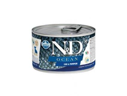 N&D DOG OCEAN Puppy Codfish & Pumpkin Mini 140 g
