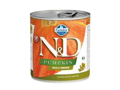 N&D DOG PUMPKIN Adult Duck & Pumpkin 285 g