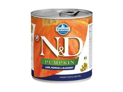 N&D DOG PUMPKIN Adult Lamb & Blueberry 285 g