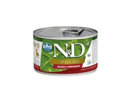 N&D DOG PRIME Puppy Chicken & Pomegranate Mini 140 g