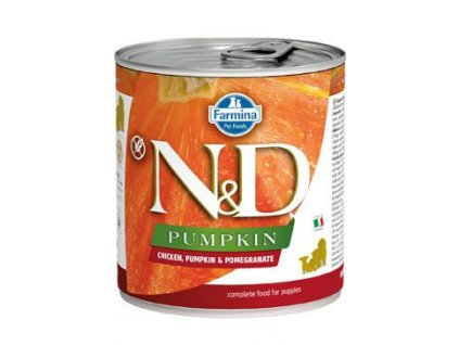 N&D DOG PUMPKIN Puppy Chicken & Pomegranate 285 g
