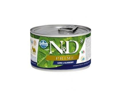 N&D DOG PRIME Adult Lamb & Blueberry Mini 140 g