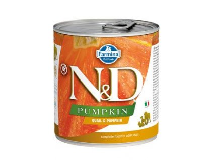 N&D DOG PUMPKIN Adult Quail & Pumpkin 285 g