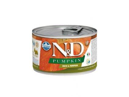 N&D DOG PUMPKIN Adult Duck & Pumpkin Mini 140 g