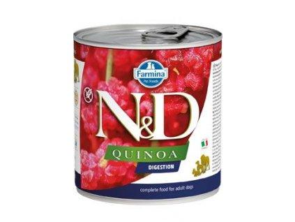 N&D DOG QUINOA Adult Digestion Lamb & Fennel 285 g