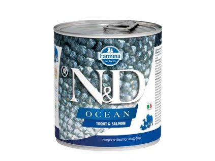 N&D DOG OCEAN Adult Trout & Salmon 285 g