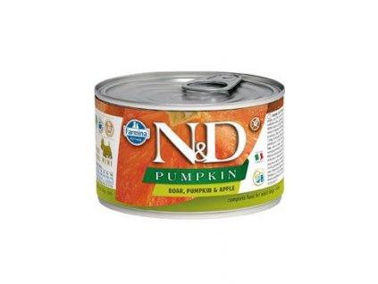 N&D DOG PUMPKIN Adult Boar & Apple Mini 140 g