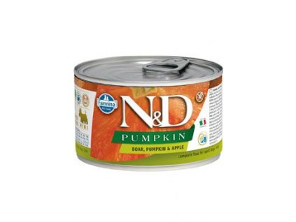 N&D DOG PUMPKIN Adult Boar & Apple Mini 140 g