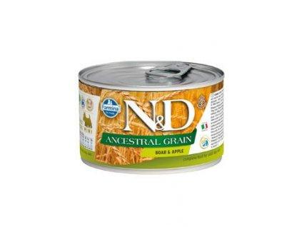 N&D DOG LOW GRAIN Adult Boar & Apple Mini 140 g