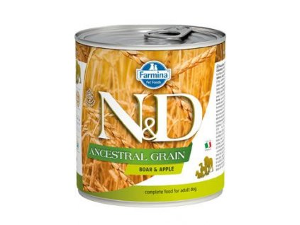 N&D DOG LOW GRAIN Adult Boar & Apple 285 g