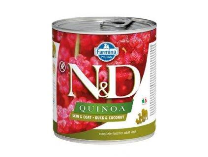 N&D DOG QUINOA Adult Duck & Coconut 285 g