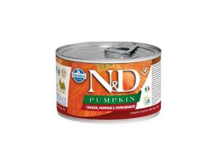 N&D DOG PUMPKIN Adult Chicken & Pomegranate Mini 140 g