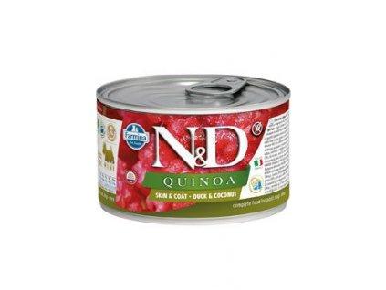 N&D DOG QUINOA Adult Duck & Coconut Mini 140 g
