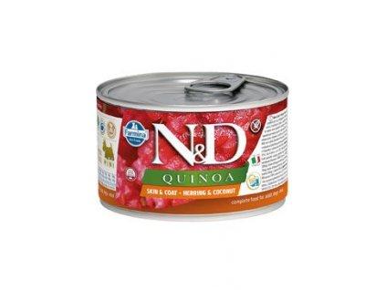 N&D DOG QUINOA Adult Herring & Coconut Mini 140 g