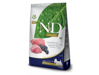 N&D PRIME DOG Adult Mini Lamb & Blueberry 7 kg