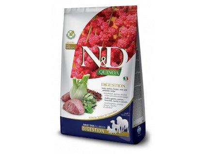 N&D Quinoa DOG Digestion Lamb & Fennel 7 kg