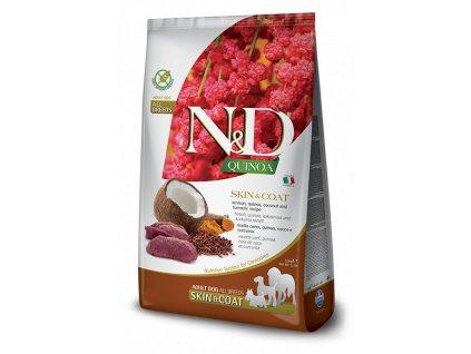 N&D Quinoa DOG Skin & Coat Venison & Coconut 7 kg