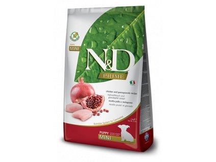 N&D PRIME DOG Puppy Mini Chicken & Pomegranate 2,5 kg