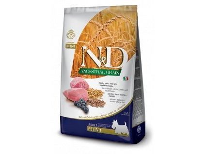 N&D Low Grain DOG Adult Mini Lamb & Blueberry 2,5 kg