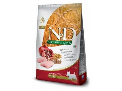 N&D Low Grain DOG Senior Mini Chicken & Pomegranate 2,5 kg